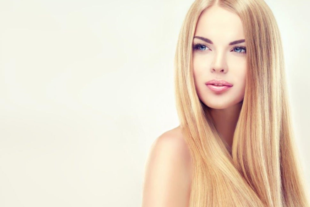 woman with Beige Blonde hair