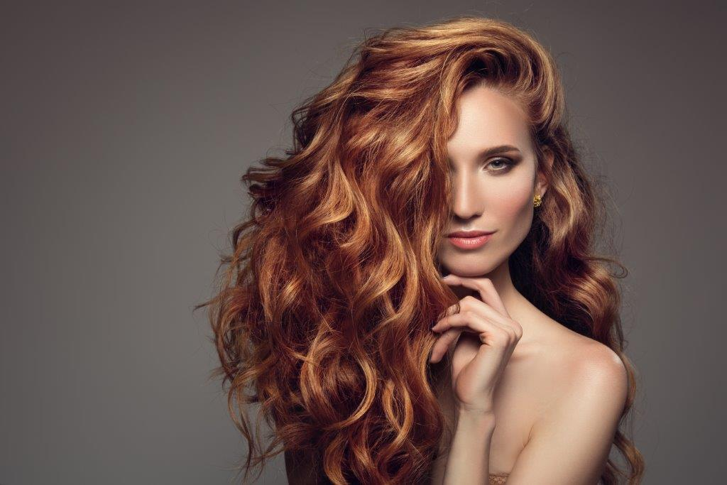 woman with Honey brown hair